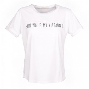 Tee-Shirt Sunrise Blanc Smiling Belle & Toile
