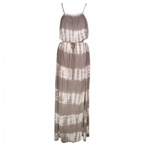 Robe Longue chic Tie and Die SableBelle & Toile