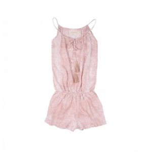 Combishort Python Rose Fille Belle & Toile