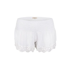 Short Crochet Blanc Belle & Toile