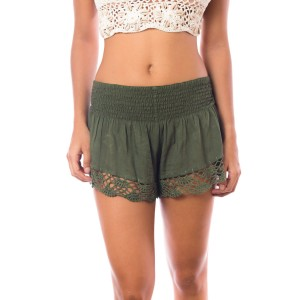 Short Crochet Kaki Belle & Toile