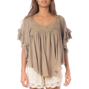 Top Volants crochet Sahara Belle & Toile